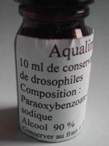 Conservateur pour milieu de drosophiles 10 ml